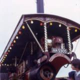 traction engine, 1974.