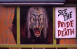 fairground horror artwork, 1974.