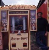 vending machine, 1974.