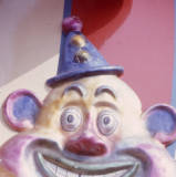 clown figure, 1974.