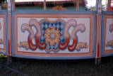 round stall artwork, 1974.