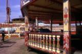 fairground view, 1974.