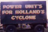 transport lettering, 1974.