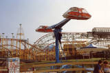 Blackpool Pleasure Beach Amusement Park, 1981.