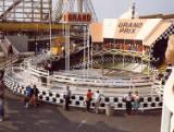 Blackpool Pleasure Beach Amusement Park, 1981.