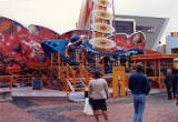 Blackpool Pleasure Beach, 1983.