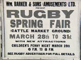 Rugby Spring Fair, 1962.