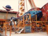Blackpool, Pleasure Beach, 1986.