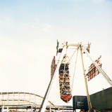 Blackpool Pleasure Beach, 1987.