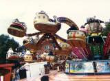 Nottingham Goose Fair, 1990.