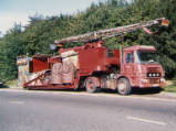 Roger Hall's ERF Lorry, 1990.