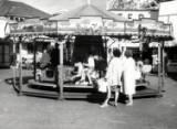 Rhyl Amusement Park, circa 1950.