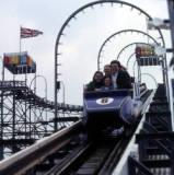 Rhyl Amusement Park, circa 1990.
