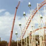 Pinfari Roller Coaster, circa 1970.