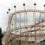 Jetstream Roller Coaster, circa 1975.