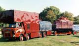 Nottingham Goose Fair pulling on, 1988.