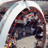 Rhyl Amusement Park, circa 19900.