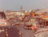 Rhyl Amusement Park, circa 1977.