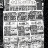 Gandey's Circus at Rugby, 1965.