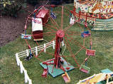 fairground model, 1980.