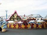 Blackpool Pleasure Beach, 1990.