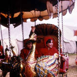 Peacock ride, 1965.