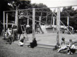 Northampton Abington Park Fair, 1958.