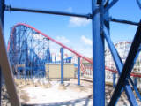 Blackpool Pleasure Beach, 2007.